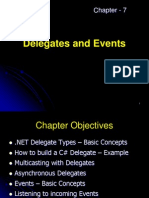 7.Delegates and Events