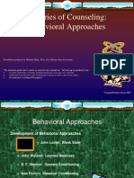 Behavioral Approaches