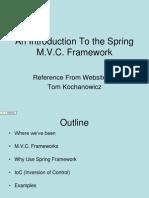 Mvc Spring Framework
