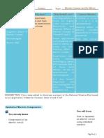 Science Work Sheet