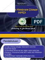 Hyaline Membrane Disease. PPT