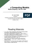 Mobile Comp Models