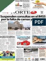 Periódico Norte edición impresa día 11 de enero 2014