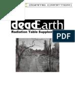 DeadEarth - Radiation Table Supplement 2