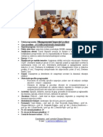 2013 Managementul inspectiei scolare