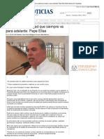09-01-2014 'Reynosa, una ciudad que siempre va para adelante_ Pepe Elías'