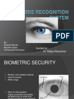 Final Iris Recognition