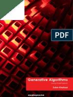 Generative Algorithms