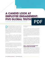 A Candid Look at Employee Engagement Five Global Truths