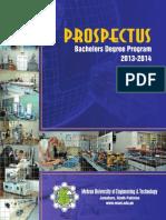 Muet Prospectus 14-Batch 2013-14