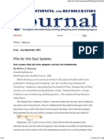 Pills for Sick Duct Systems - Issue Jul-Sep 2003
