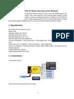 ZYX-S2 User Manual