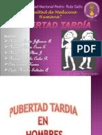 Pubertad Tardia- Hombres y Mujeres