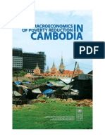 Macro_poverty and Inequality in Cambodia