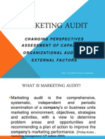 Chapter 1 Makrting Audit