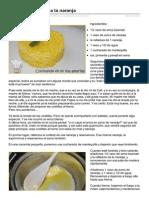 Cocinandoenmiislaamarilla.com-Arroz Aromatizado a La Naranja
