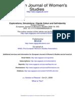 European Journal of Women's Studies 2009 Gravano 353 71