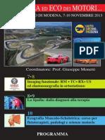 Risonaza Ed Eco  Motori Monetti Programma
