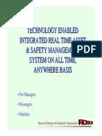 14.Integrated Monitoring Tec IR RDSO