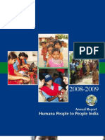 Humana People to People India (HPPI) Annual Report 2008-09