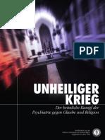 Anti-Psychiatrie - CCHR - 17 - Unheiliger Krieg - Unterwanderung Der Religionen