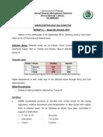 20131006 NDMA Situation Report 11