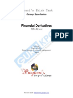 Financial Dervative