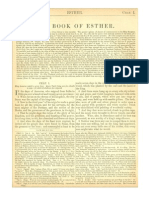 The Book of Esther with Haydock Commentary.