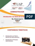 Ayuda 1- Introducción a la Teoría de la adm