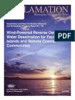 Report128 Wind Powered RO Water Desalination