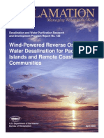 Report128 Wind Powered RO Water Desalination