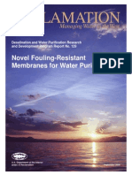Report129 Fouling Resistant Membranes- Water Purification