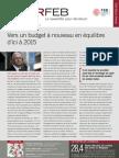 Infor FEB 30, 18 septembre 2009