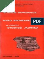 Blagoje Govedarica - Rano bronzano doba na području istočnog Jadrana