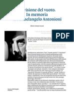 Antonioni La Visione Del Vuoto