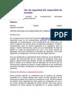 NTP 346 Válvulas de seguridad (II) capacidad de alivio y dimensionado