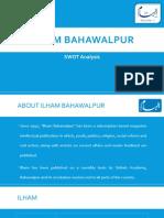 SWOT Analysis of Ilham Bahawalpur