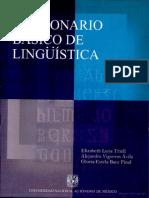 Diccionario lingüística