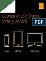 Brosura tarife servicii