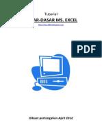 Tutorial Dasar Excel 2007