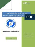 FEA Interview Questions Module 1