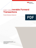 Non Deliverable Forward Transact
