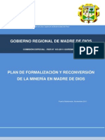 MI- Plan Formalizacion Reconversion Mineria MdD. GRMdD.nov11