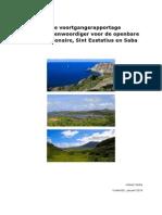 Derde Voortgangsrapportage Rijksvertegenwoordiger Voor de Openbare Lichamen Bonaire Sint Eustatius en Saba