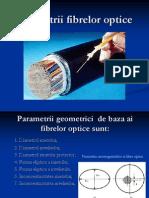 Parametrii fibrelor optice