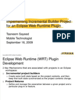 Eclipse WRT Plugin Dev