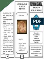 Leaflet 1 Depan PERAWATAN SETELAH OPERASI