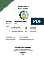 Laporan Praktikum Kimia Fisika Adsorpsi Isotermis Zandhika Alfi Pratama