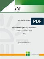 Cartilla Devolucion Renta 2012