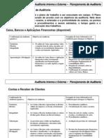 06 - Planejamento de Trabalho de Auditoria- Programas.